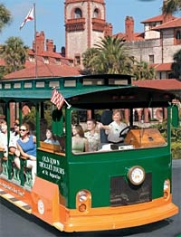Old Town Trolley Tour of St Augustine