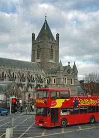 City Sightseeing Hop On Hop Off Tour of Dublin