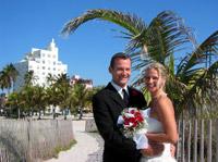 South Beach Wedding on Miami Beach