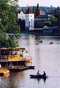 Vltava River Cruise with Afternoon Tea