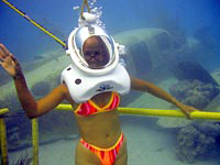 Sea Trek Tour of Jamaica's Underwater World