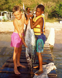 Half Day Fishing Adventure off Nevis