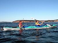 Sea Kayak Trek from Friday Harbor