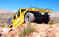 Red Rock Canyon Hummer Adventure