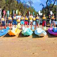 Half Day Double Island Sea Kayaking Tour