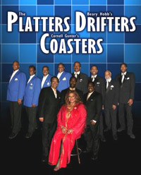 The Platters, Drifters and Coasters
