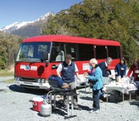 Milford Sound BBQ Bus with Milford Sound Cruise from Te Anau