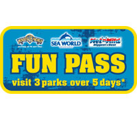 The Fun Pass - Movie World, Sea World and Wet 'n' Wild Theme Parks