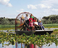 Everglades National Park, Miami City Tour and Biscayne Bay by Boat