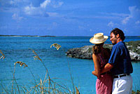 Exuma's Helicopter Sightseeing and Marine Life Experience in the Bahamas
