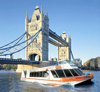 River Red Rover - Thames River Hop On Hop Off Pass