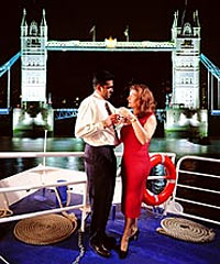 The London Showboat Evening Cruise - Dinner and Show on the River Thames