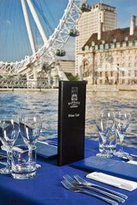 Bateaux London Thames River Lunch Cruise