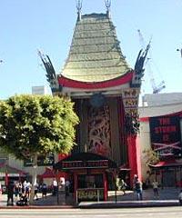Movie Stars Homes and Interior of Grauman's Chinese Theatre