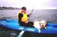 La Jolla Pooch Paddling Kayak Rental