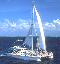 Bali Hai Aristocat Luxury Sailing Catamaran Cruise