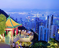 Lamma Island Dinner and Hong Kong Night Lights