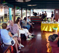 Rice Barge Cruise through Bangkok