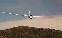 Scenic Desert Glider Flight