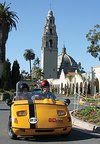 GPS-guided Talking Tour Cars San Diego