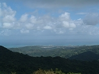 El Yunque Rainforest from San Juan