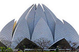 Tour of Bahai Lotus Temple by private vehicle