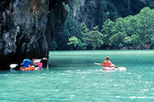 Canoe Cave Explorer Tour at Phang Nga Bay, James Bond island, Phuket tours