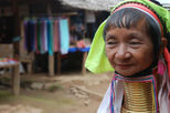 Thaton and Long-necked Hilltribe including long-tailed boat trip, Thailand tours