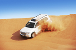 Save 20%: Dubai Super Saver: Desert Camp Experience by 4×4 and Dhow Dinner Cruise by Viator